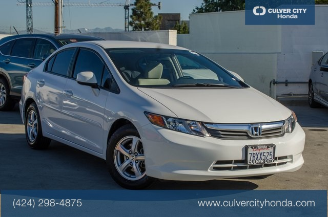 Pre-Owned 2012 Honda Civic Natural Gas