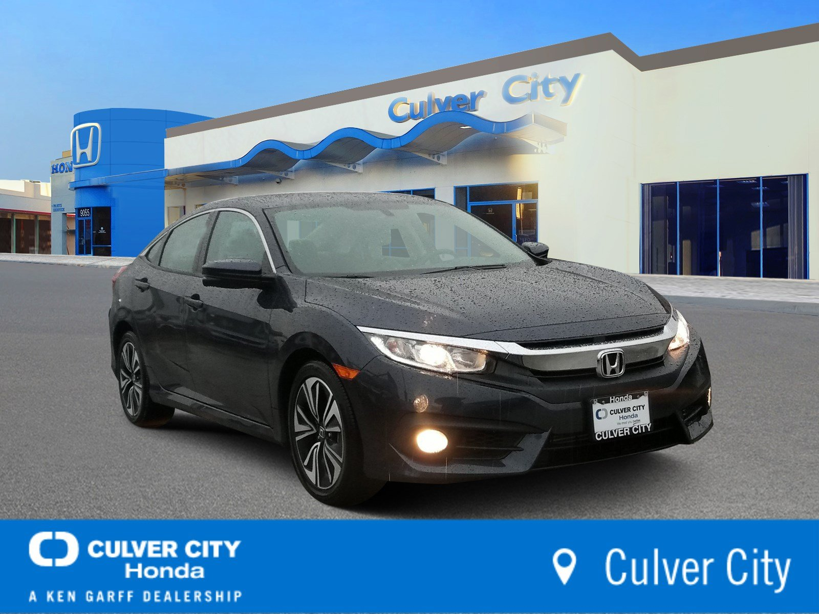 Certified Pre-Owned 2017 Honda Civic Sedan EX-T