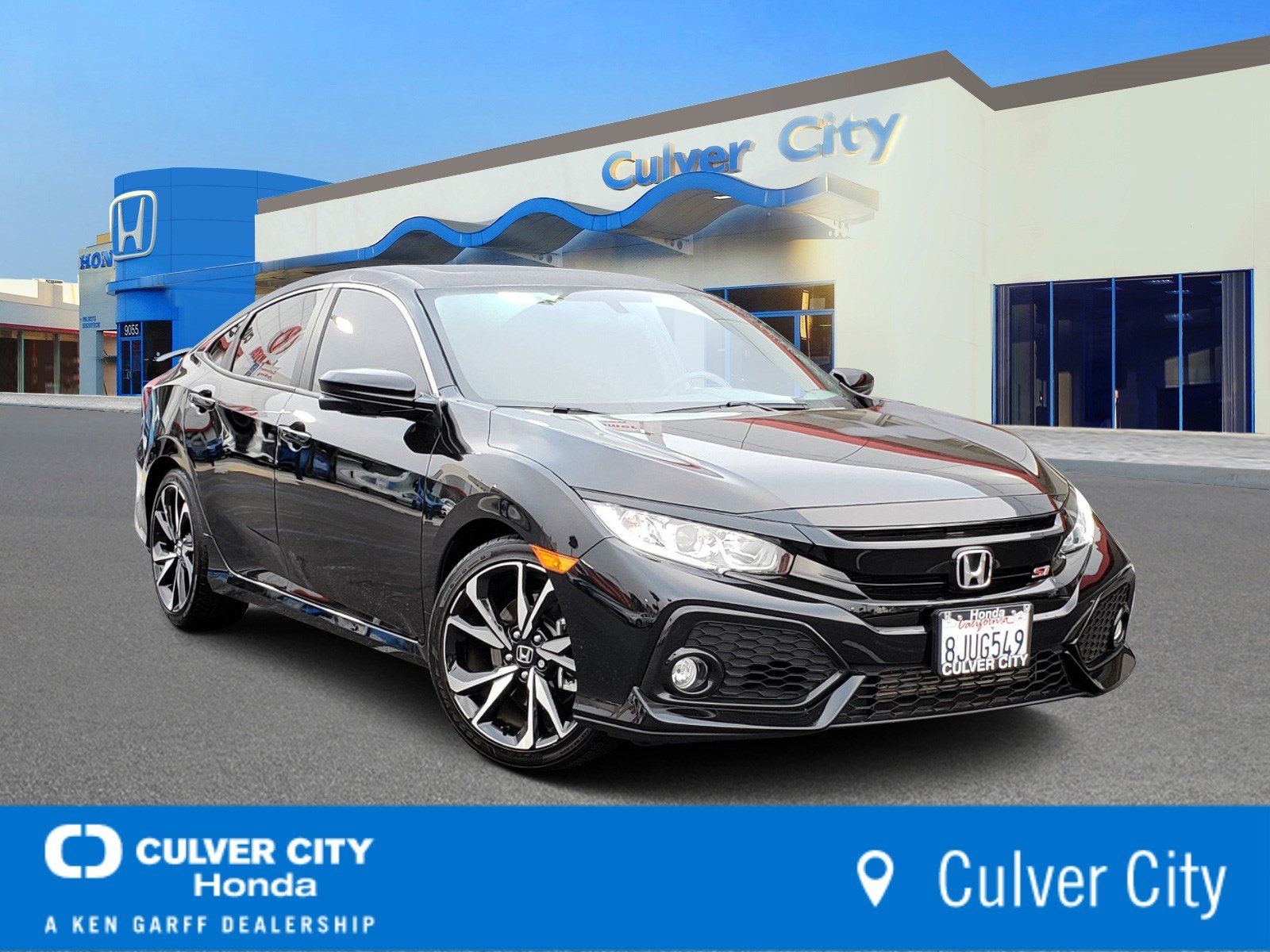 Certified Pre-Owned 2019 Honda Civic Si Sedan