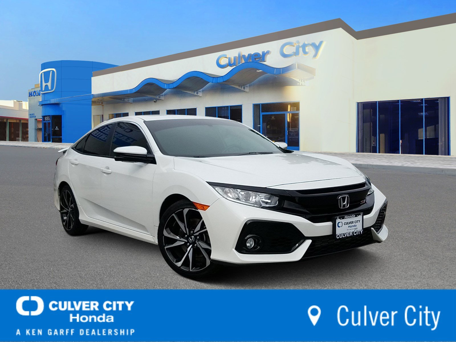 Certified Pre-Owned 2018 Honda Civic Si Sedan