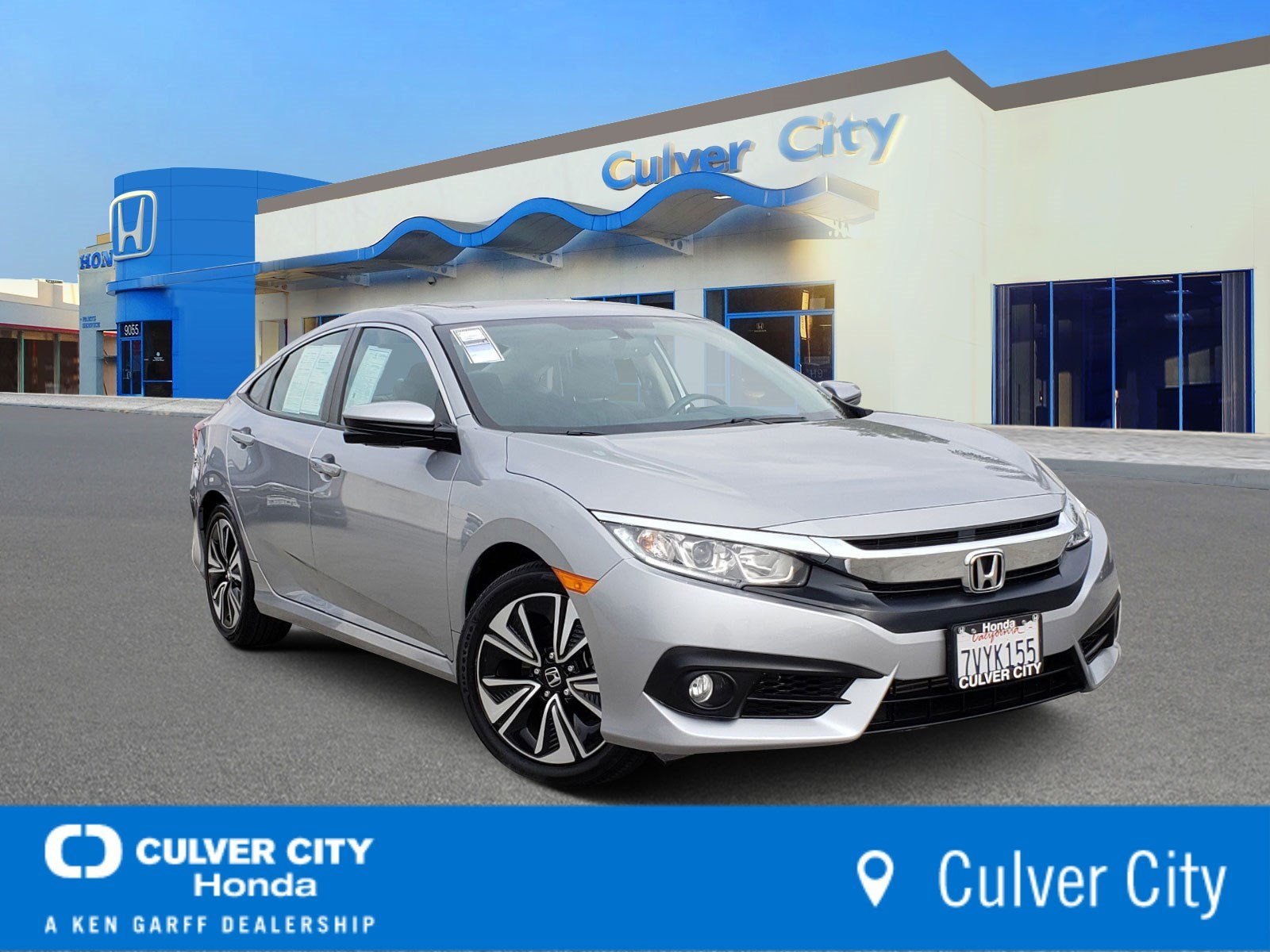 Honda Civic Certified Pre Owned >> Certified Pre Owned 2016 Honda Civic Sedan Ex L Fwd 4dr Car
