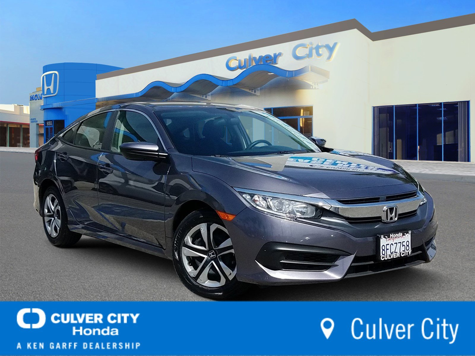 Certified Pre Owned 2017 Honda Civic Sedan Lx