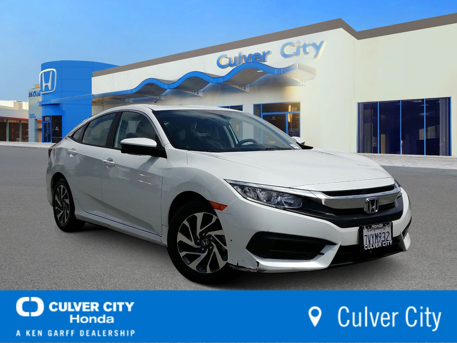 Pre Owned 2017 Honda Civic Sedan Ex