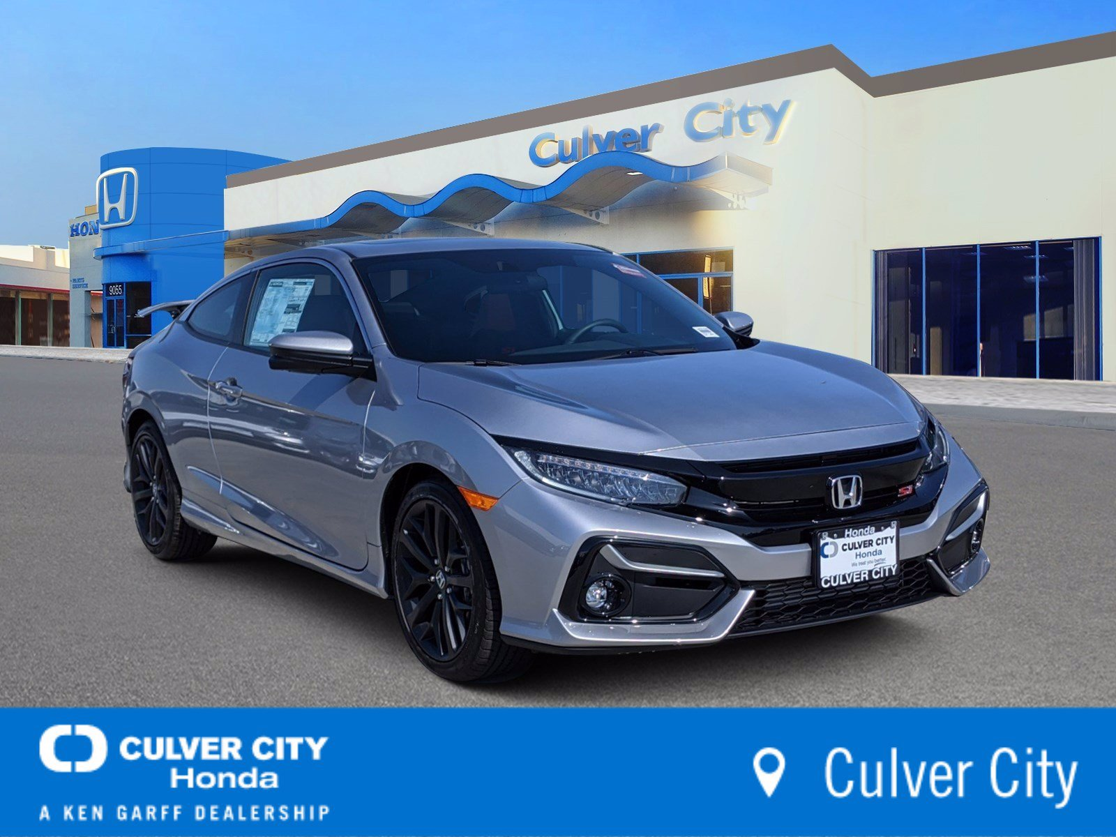New 2020 Honda Civic Si Coupe Si 2dr Car In Culver City Lh753612 Culver City Honda