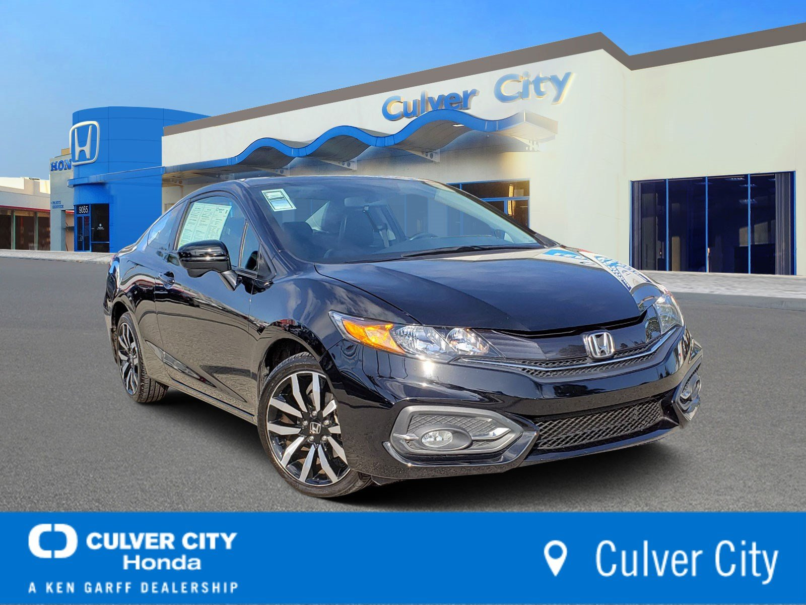 Certified Pre-Owned 2015 Honda Civic Coupe EX-L