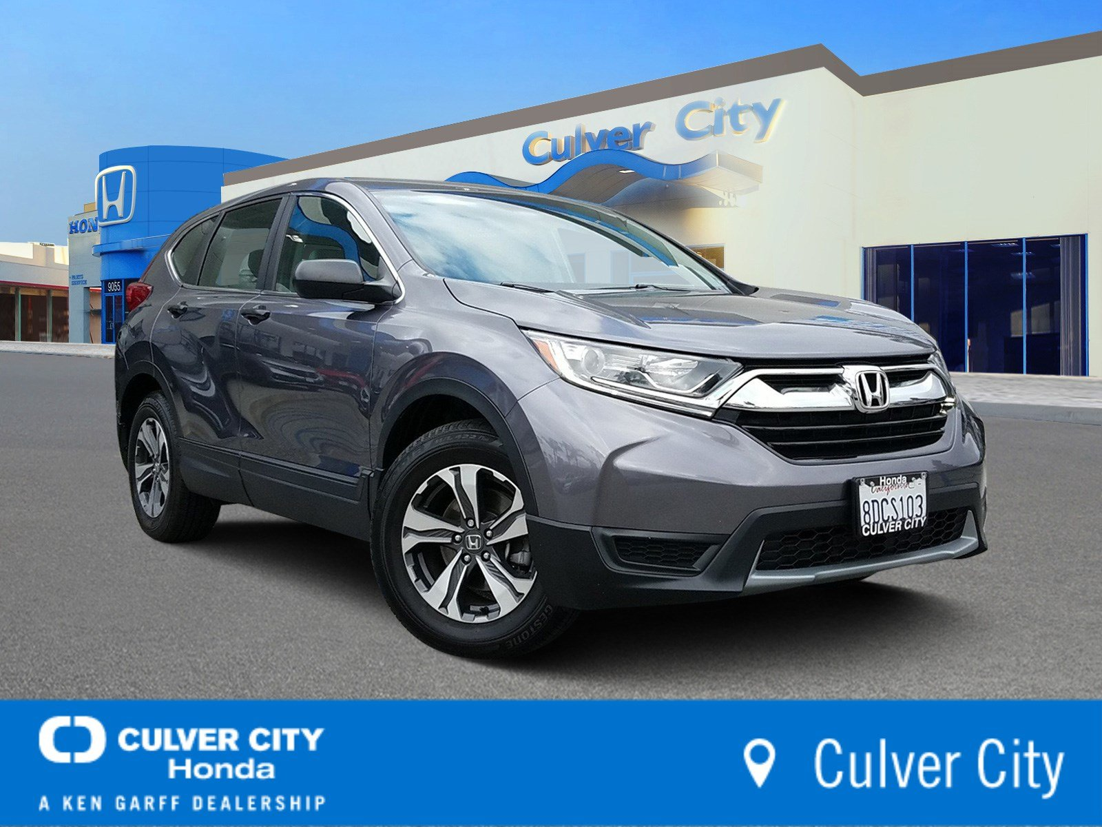 Certified Pre Owned 2017 Honda Cr V Lx