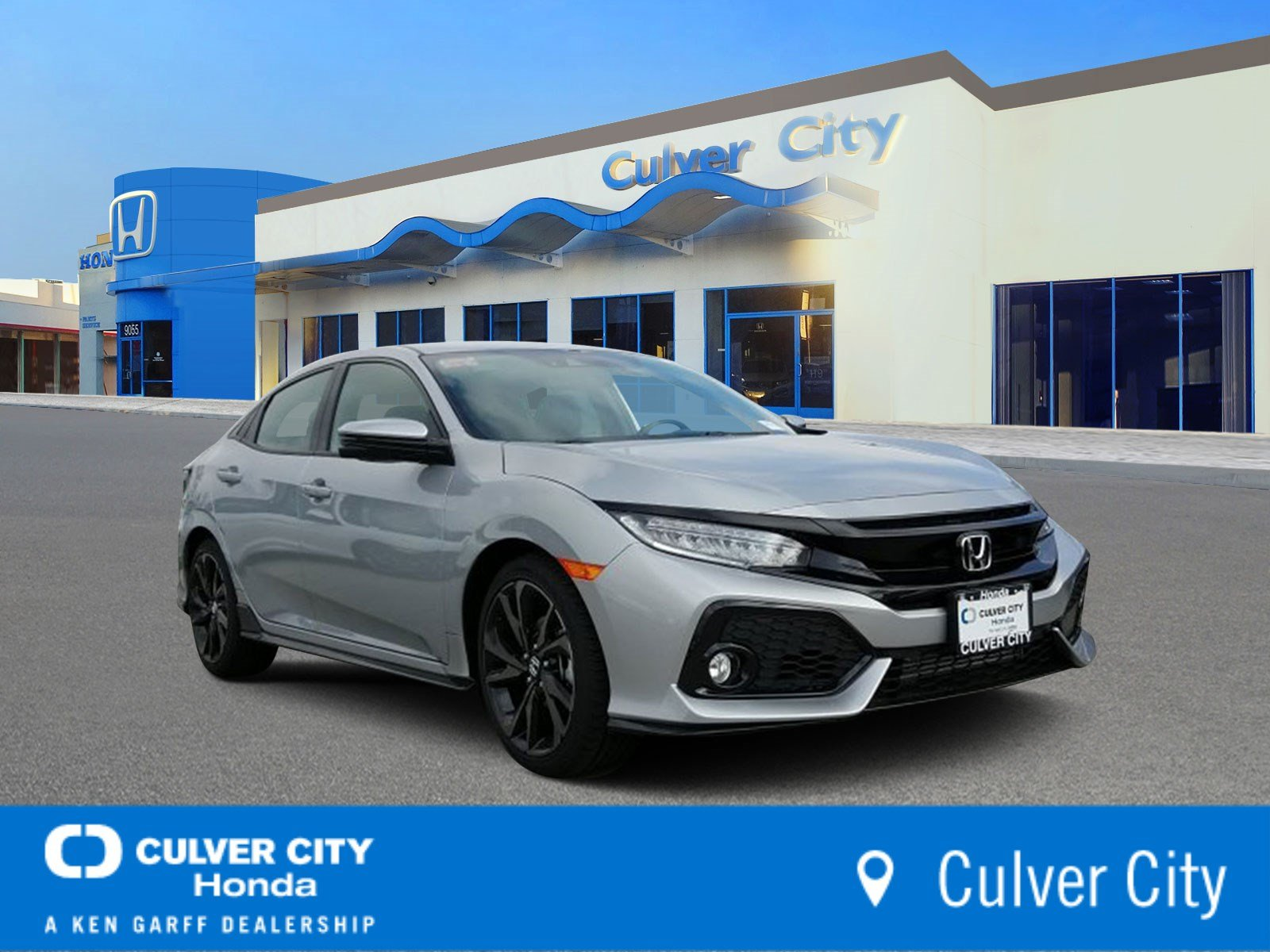 Honda Civic New >> New 2019 Honda Civic Hatchback Sport Touring With Navigation