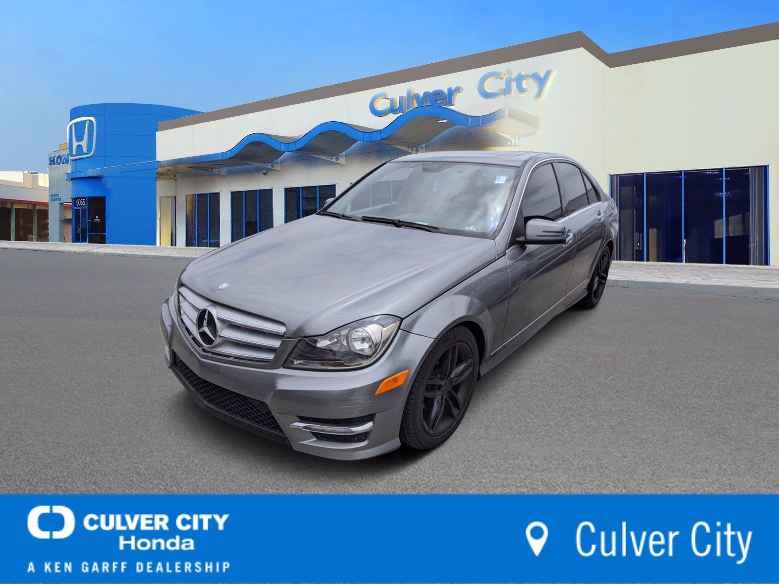 Pre-Owned 2012 Mercedes-Benz C-Class C 250 Sport