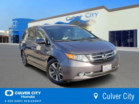 Certified Pre-Owned 2016 Honda Odyssey Touring Elite